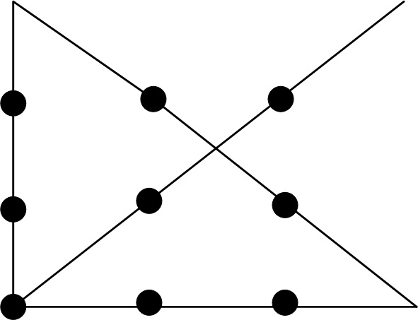 nine dots puzzle answer